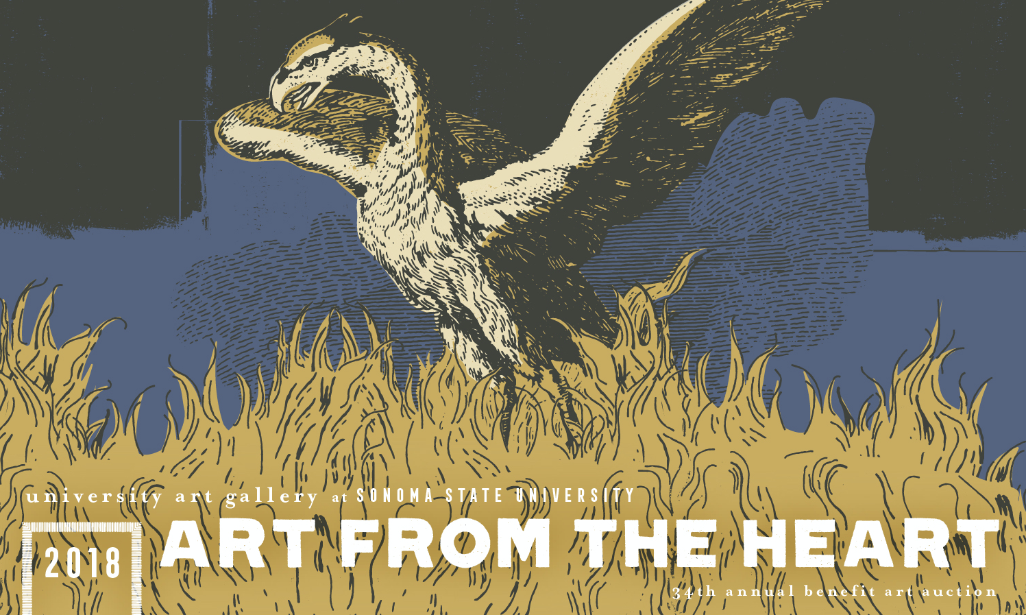 SSU Art from the Heart 2018 by Justine Mendoza and Designed by Monkeys