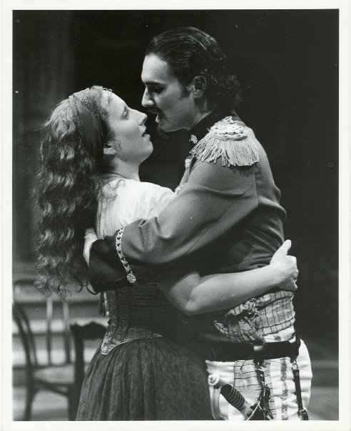 Louka in ARMS AND THE MAN - Alabama Shakespeare Festival