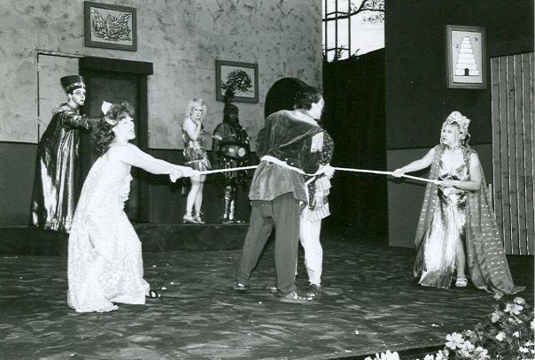 Adriana in COMEDY OF ERRORS - Shakespeare at Stinson