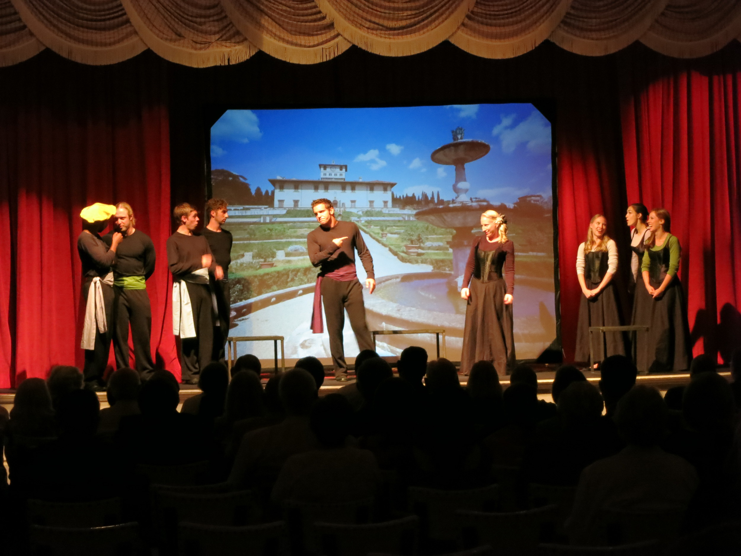 Beatrice in MUCH ADO ABOUT NOTHING - The Grand Hotel on Mackinac Island