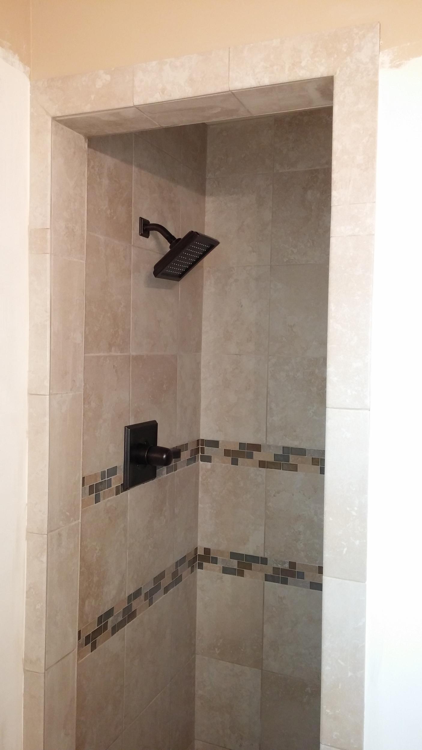 Rum Stand Up Shower 5280 Custom Installations