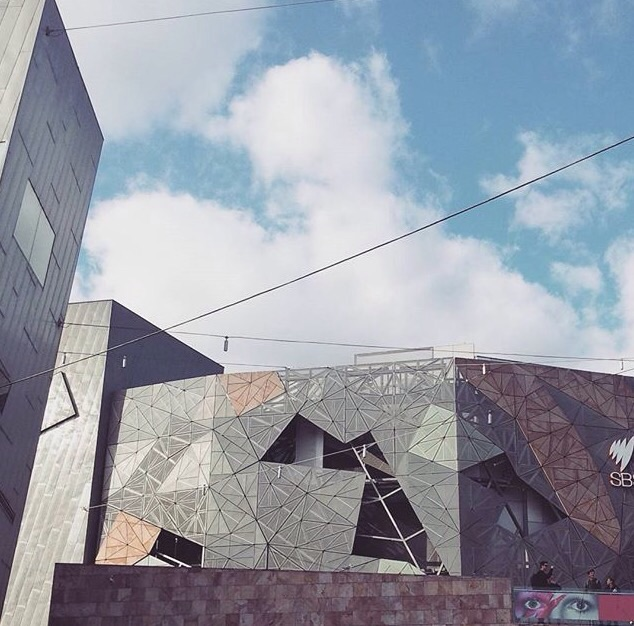 9. Federation Square, CBD  The heart of Melbourne. I really can't imagine the city without Fed Square anymore. The angular, erratic design is one of a kind and so many wonderful things are tucked inside. Make sure you check out the Attrium and NGV Australia. If you are visiting Melbourne head down underneath to the visitor info centre which is an invaluable resource for planning your time here.