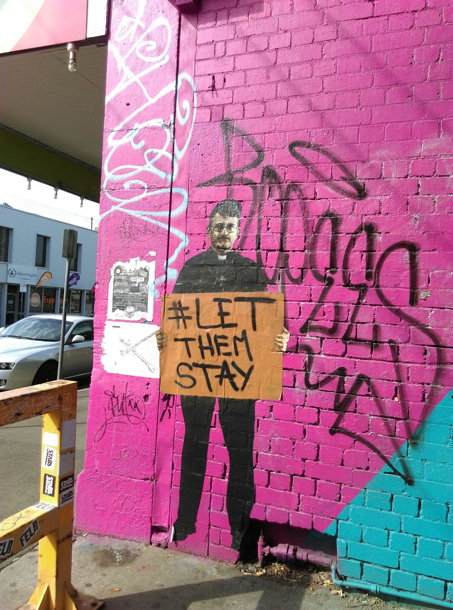 The Laneway behind the Asylum Seeker Resource Centre, some great stuff in here!