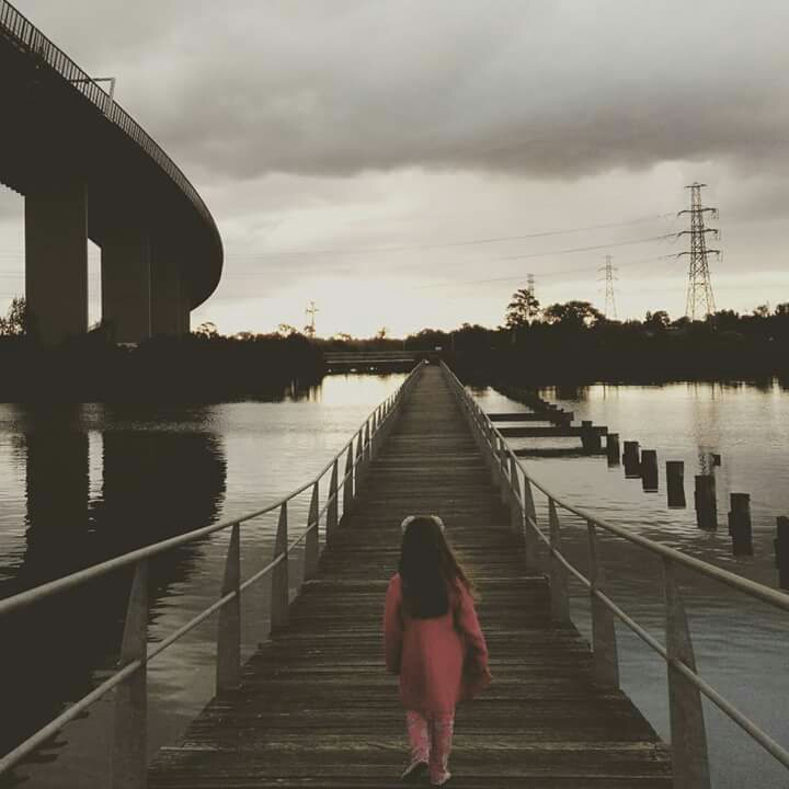 Stoney Creek Backwash. Explore the paths over the wetlands and watch the ships pass under the Westgate Bridge.