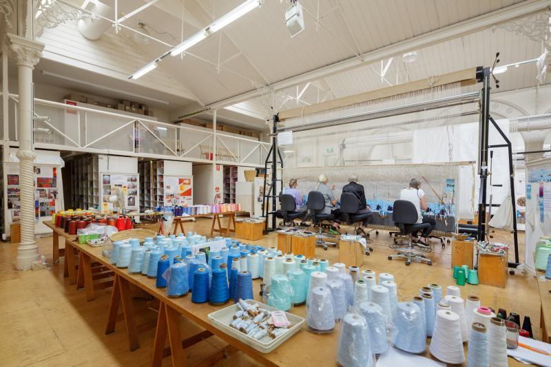 Image from Melbourne Tapestry Workshop.