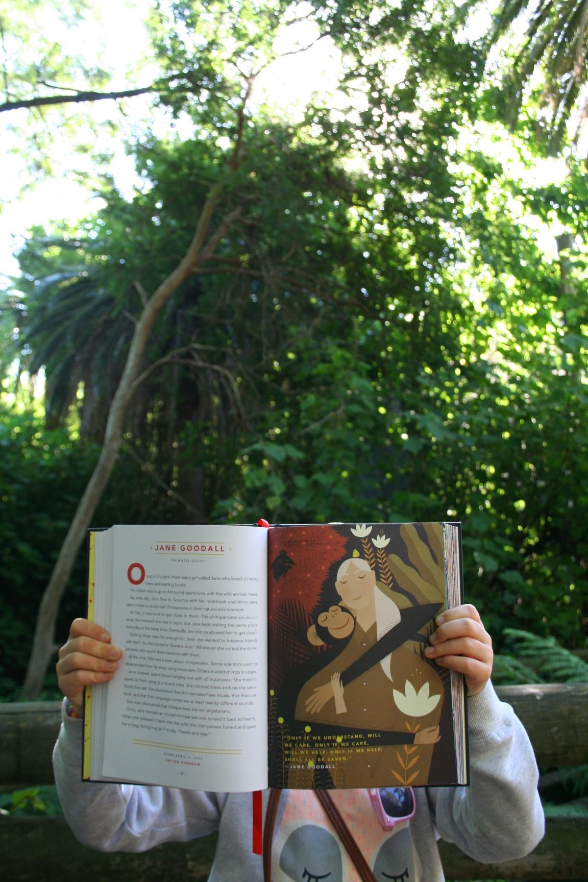 Melbourne Zoo, Jane Goodall
