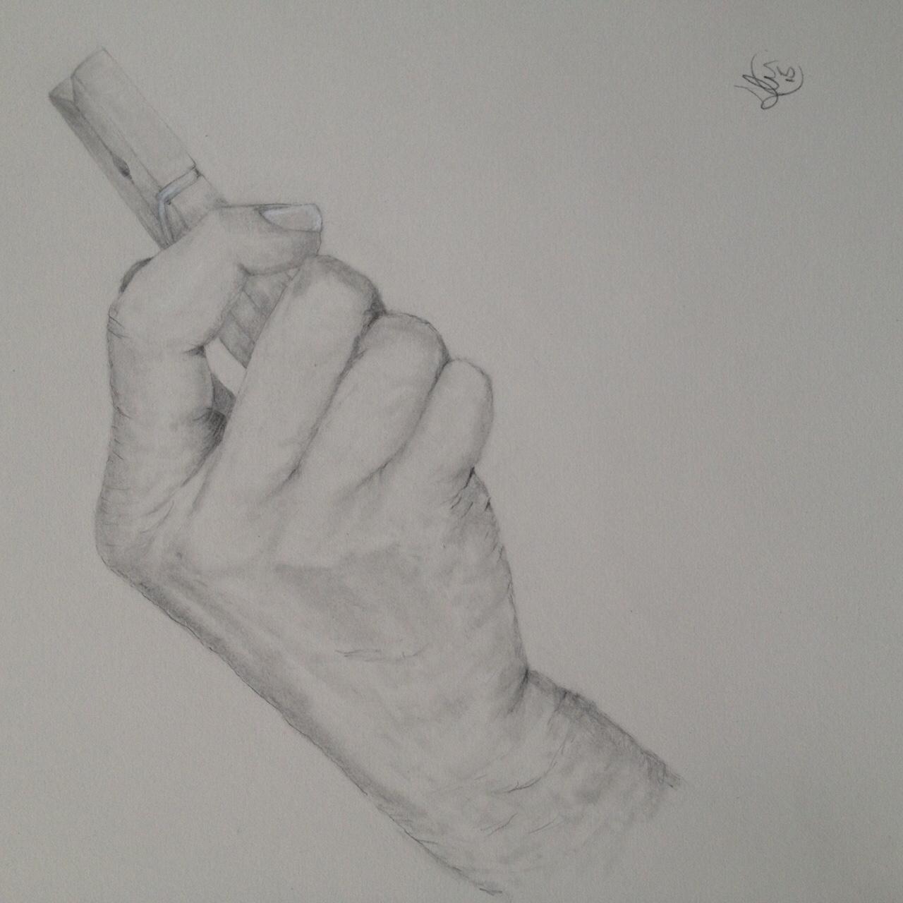 Hand study : Roma i