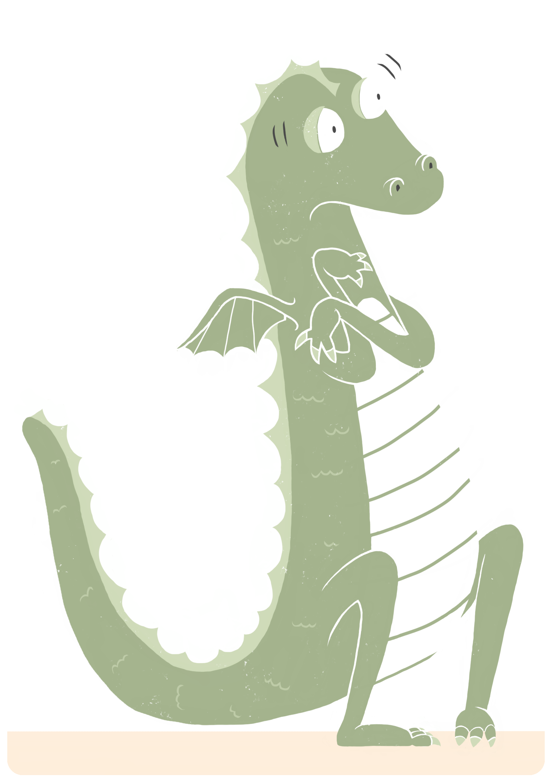 Scaredy dragon