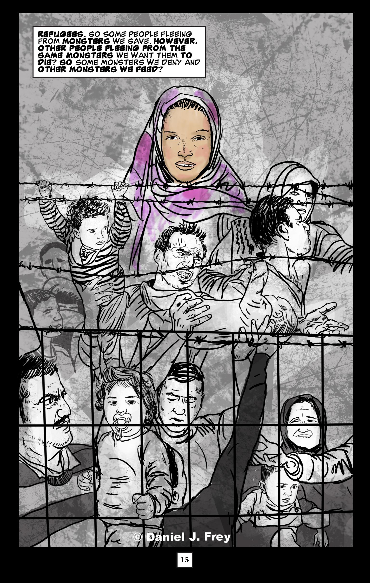 refugees, Daniel J Frey, Forces Film
