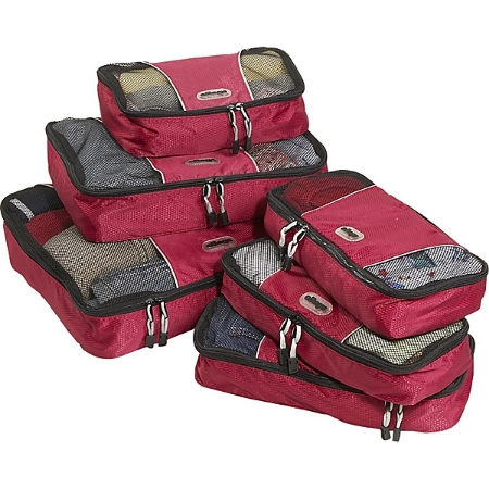 eBags Value Set: Packing Cubes + Slim Packing Cubes - Value Set: Packing Cubes + Slim Packing Cubes