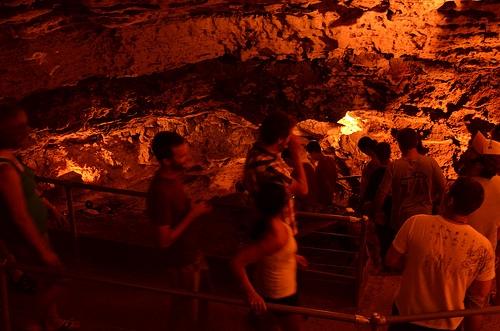 Marvel Cave, Silver Dollar City (Image via  Flickr  by Brent Schmidt)