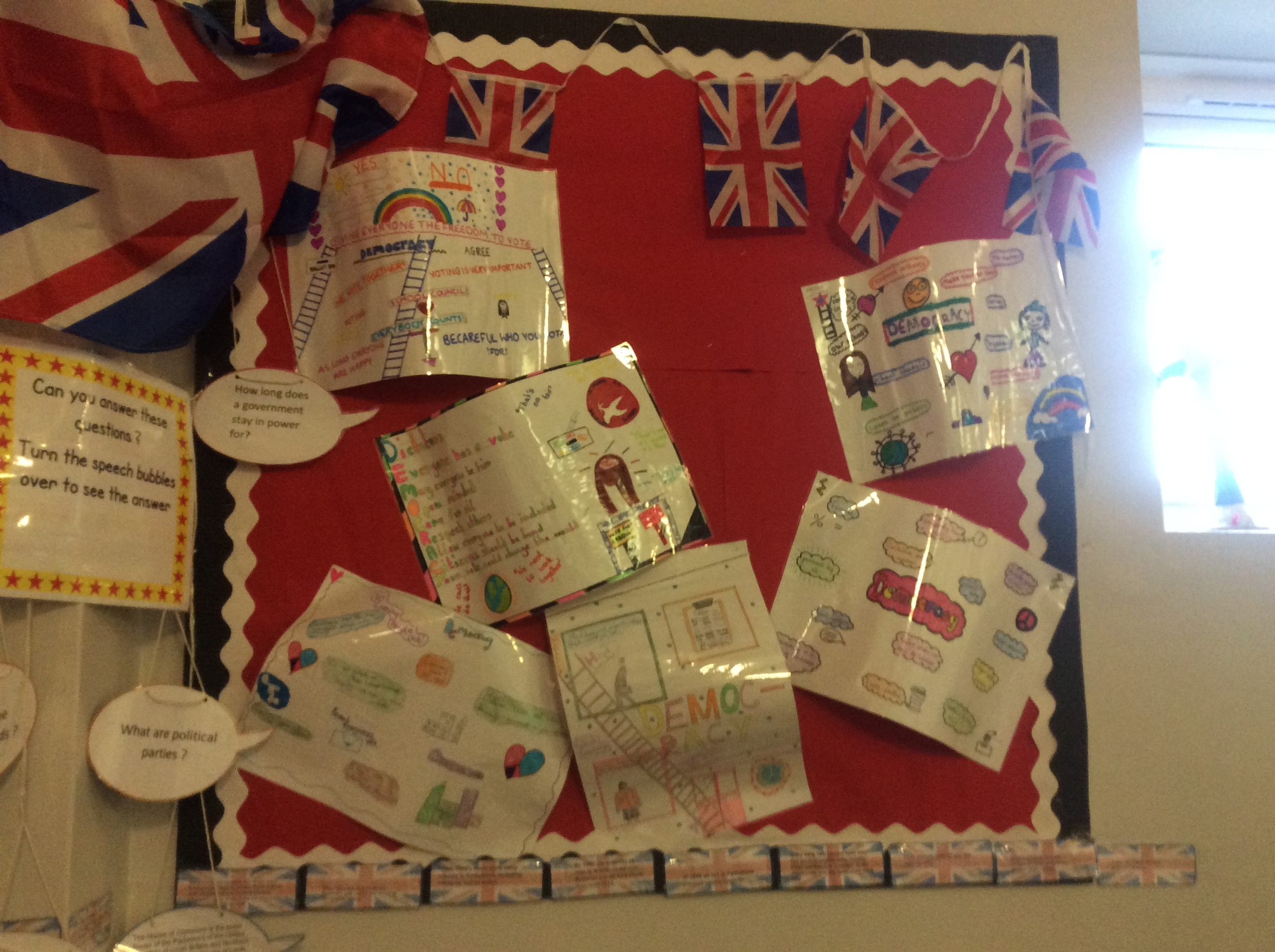 Learning about Britain and Democracy