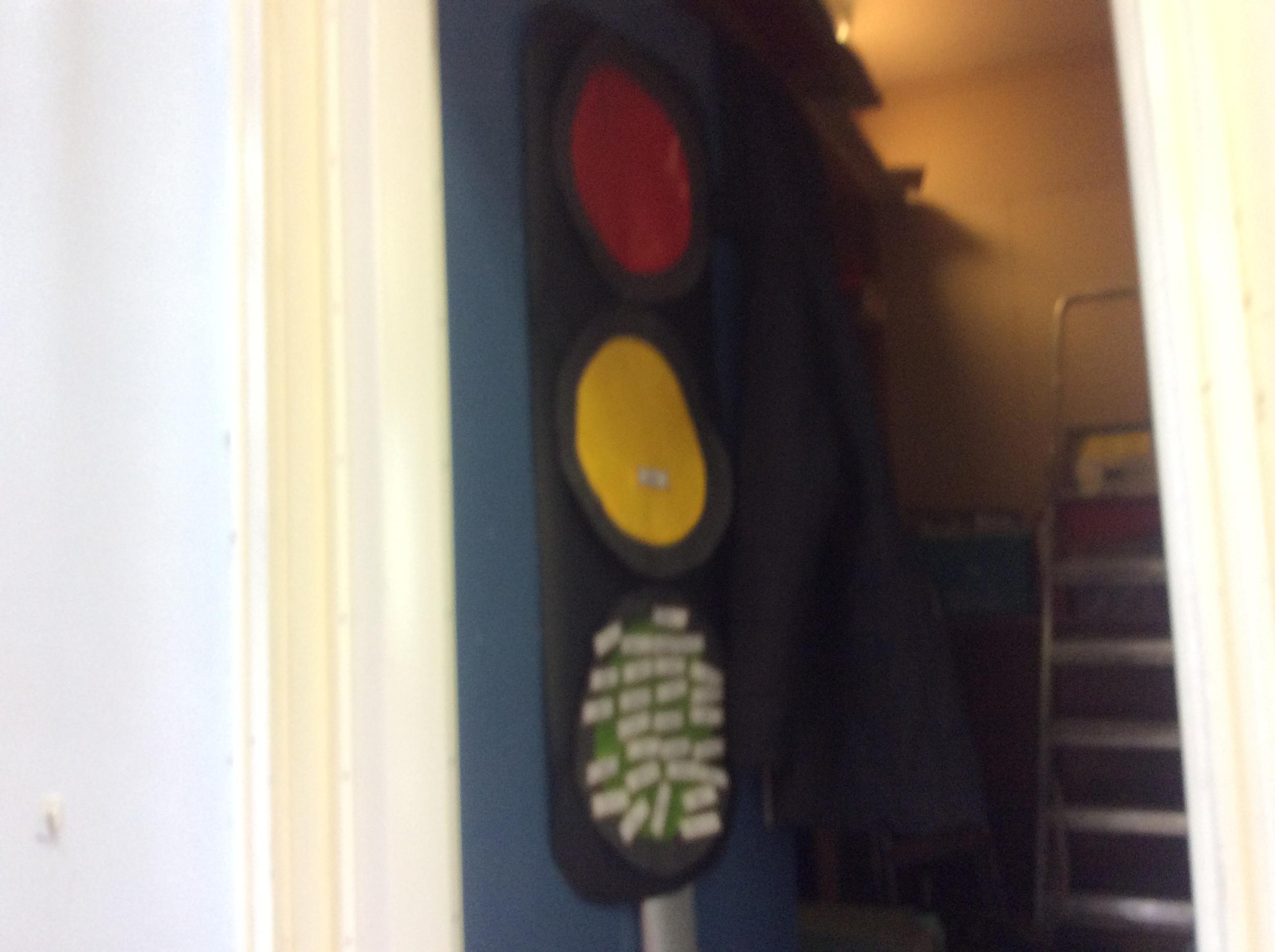 Our Behaviour Traffic Light