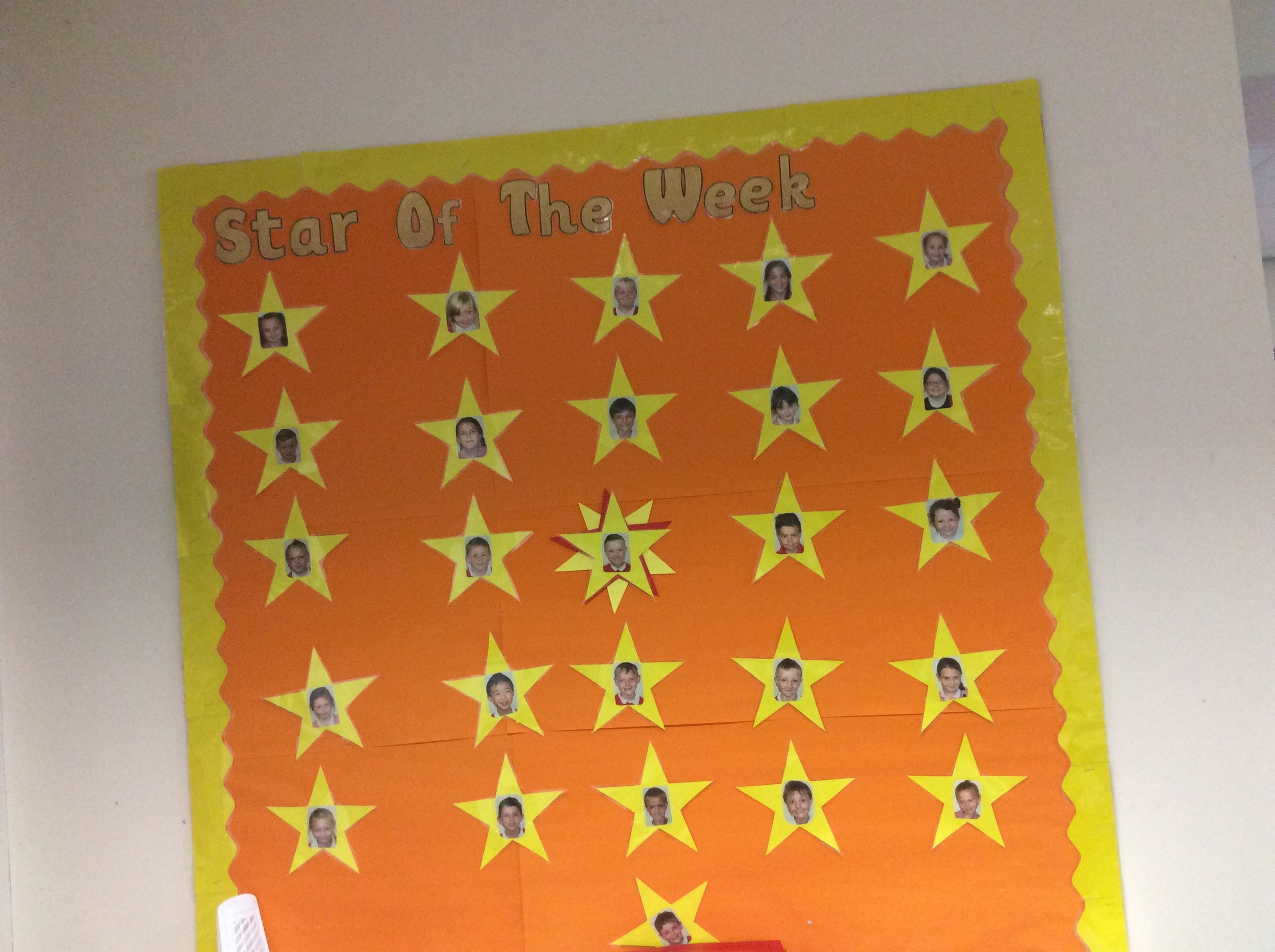 Can you be Star of the Week?