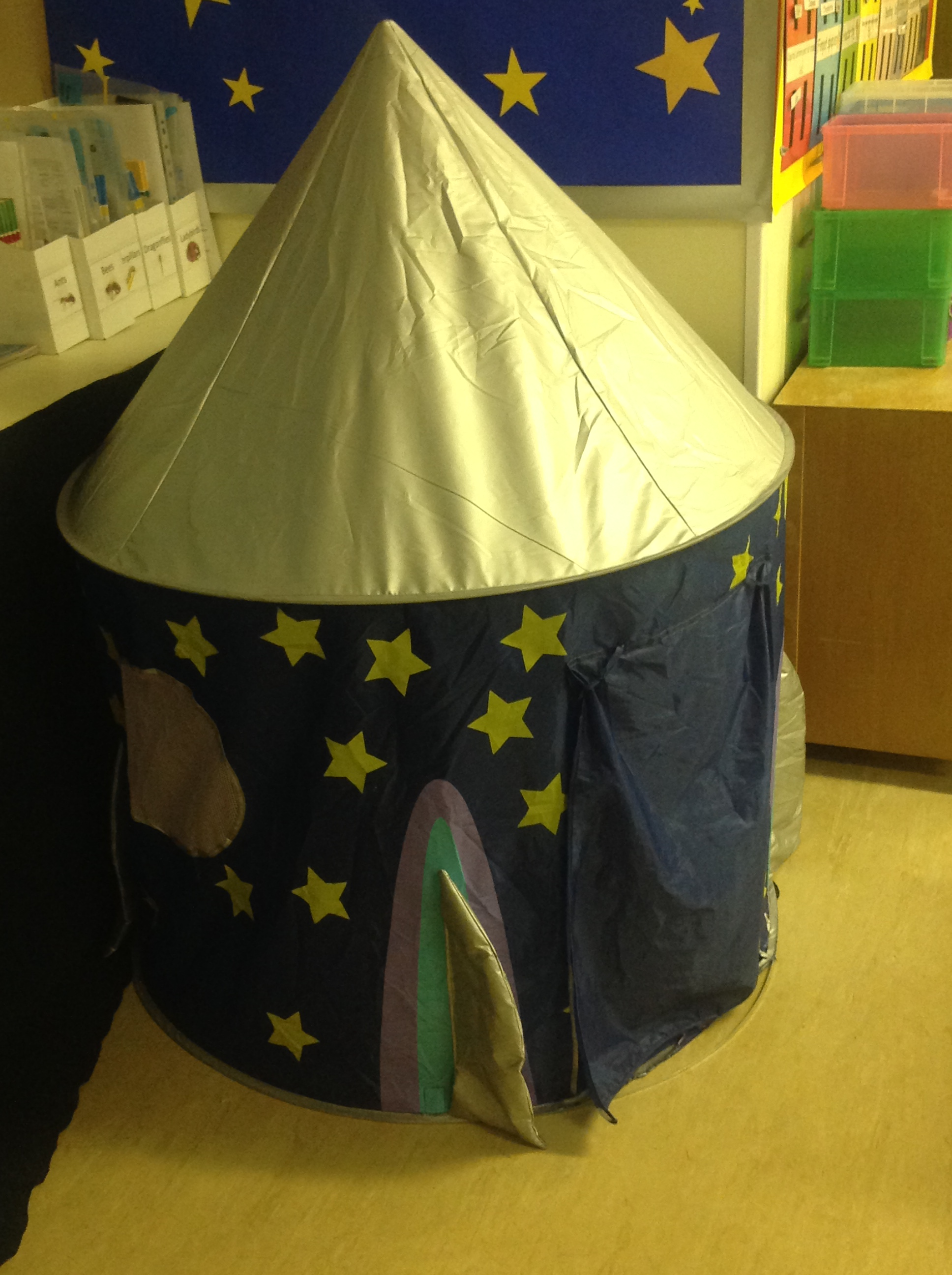 We love our reading tent