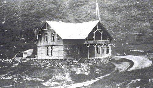 Stalheim Hotel in 1885.