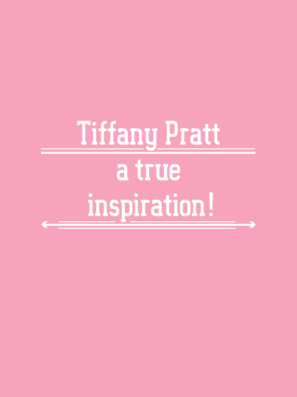 A true inspiration – Tiffany Pratt! the BIZ-school for creatives blog. Read the full blog post at www.kerstinpressler.com