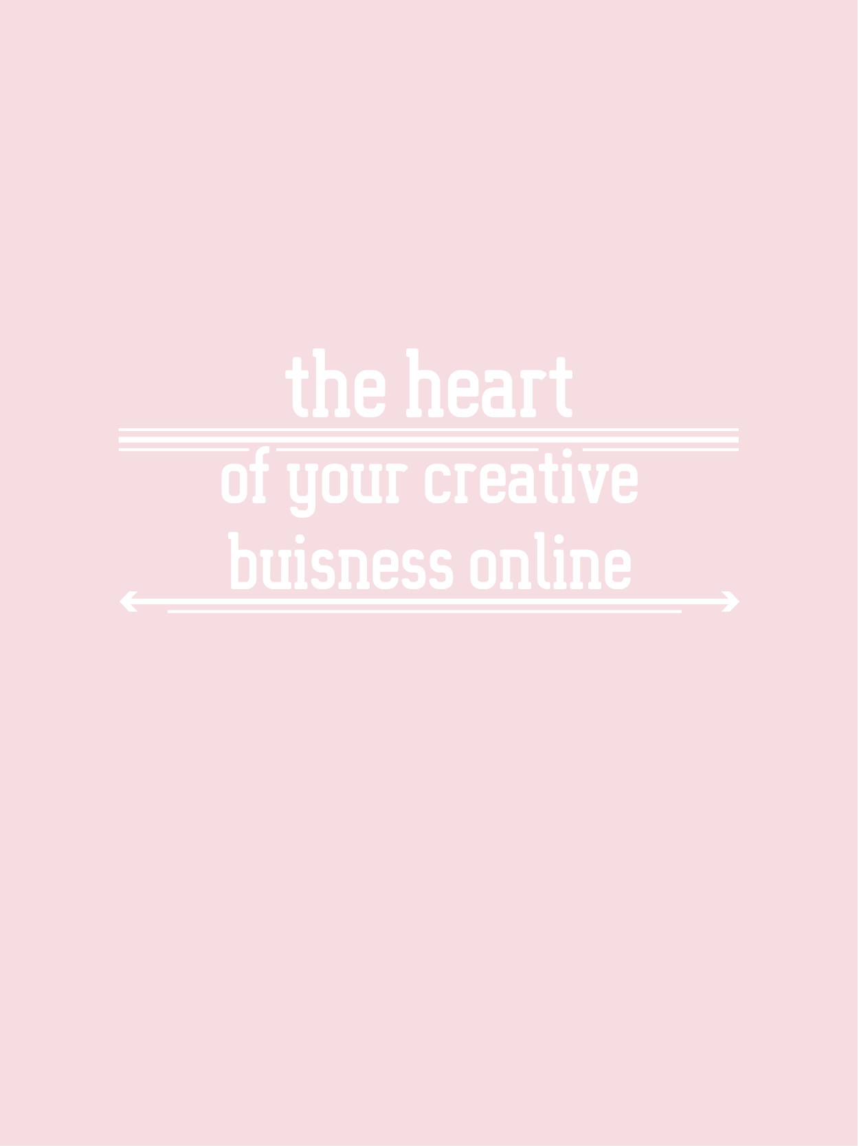 the BIZ school for creatives, The heart of your creative business online! read the full blog post at www.kerstinpressler.com