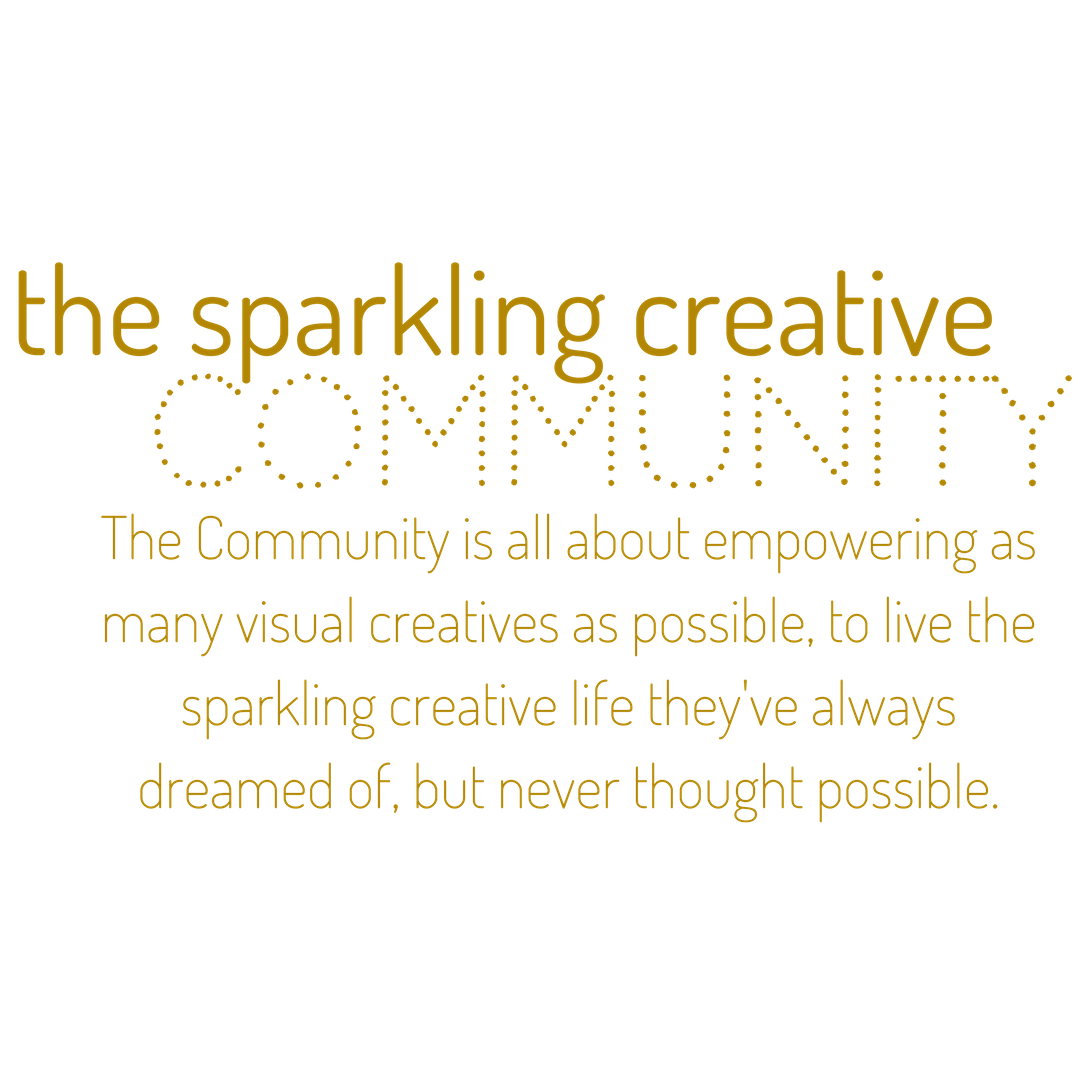 the sparkling creative community, Kerstin Pressler, www.kerstinpressler.com/community