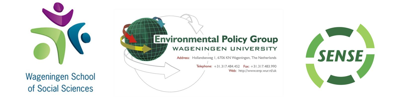 Course organized by the Environmental Policy group (ENP) in collaboration with Wageningen School of Social Sciences (WASS) and SENSE Research School for Socio-Economic and Natural Sciences of the Environment, Wageningen University
