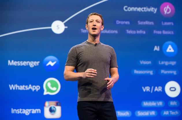 Mark Zuckerberg, Facebook CEO.