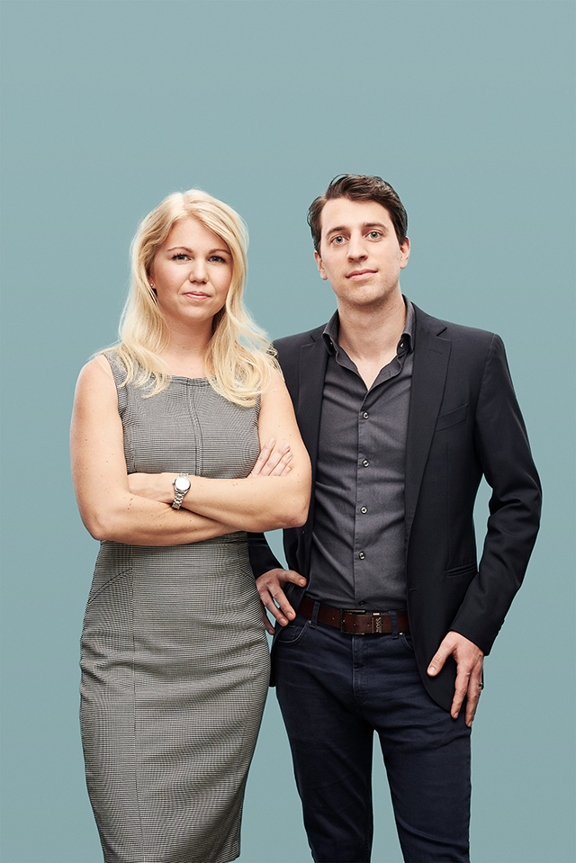 Co-founders Dr.Elina Berglund and Raoul Scherwitzl.