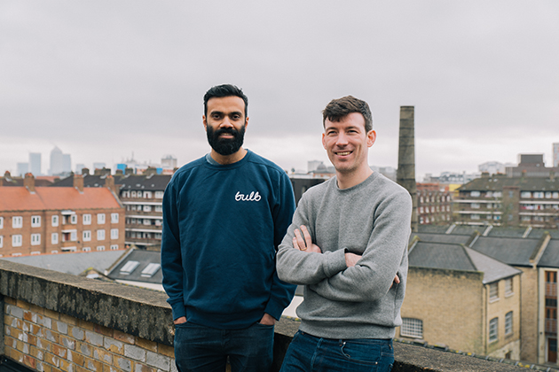 Co-founders Amit Gudka and Hayden Wood.