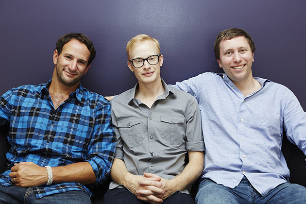 Co-Founders: Irving Fain, Brian Falther and David Golden.