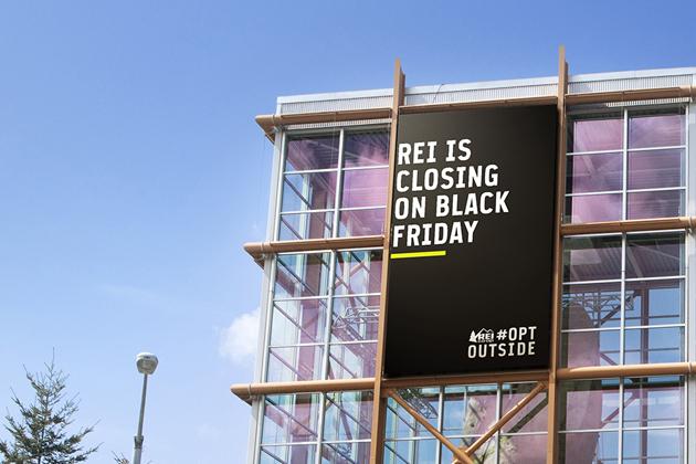 REI's #OptOutside Campaign.