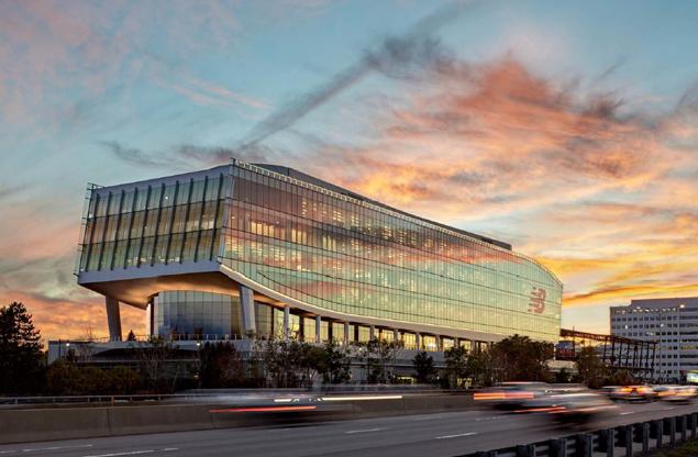 NB's Global Headquarters in Boston. Photo courtesy of New Balance.
