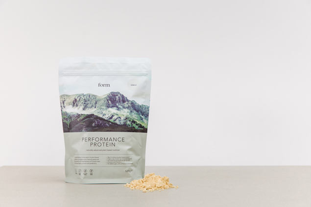 Form is part of a wave of new brands with minimal branding and pack design.