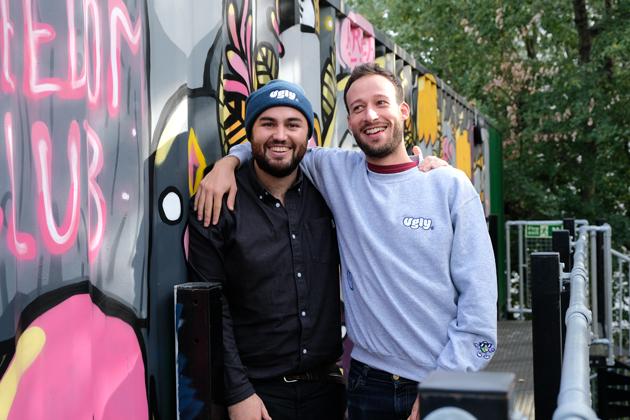 Co-founders Hugh Thomas and Joe Benn.