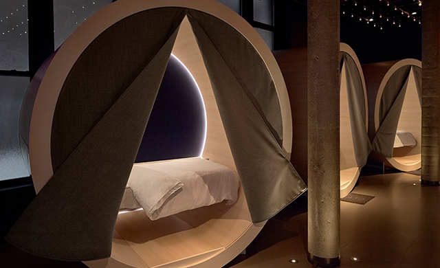 Credit: Casper. The Dreamery sleeping pods, NYC.