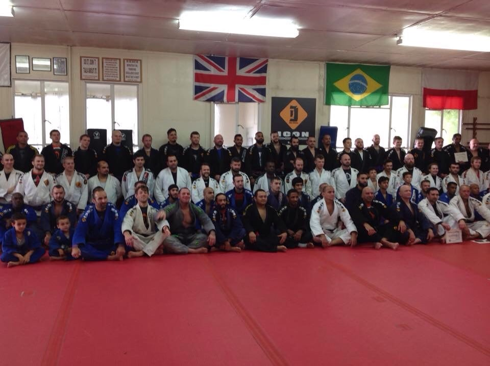 Back in October, ICON BJJ grading...on that day my journey to the Euro as a Brown Belttarted started