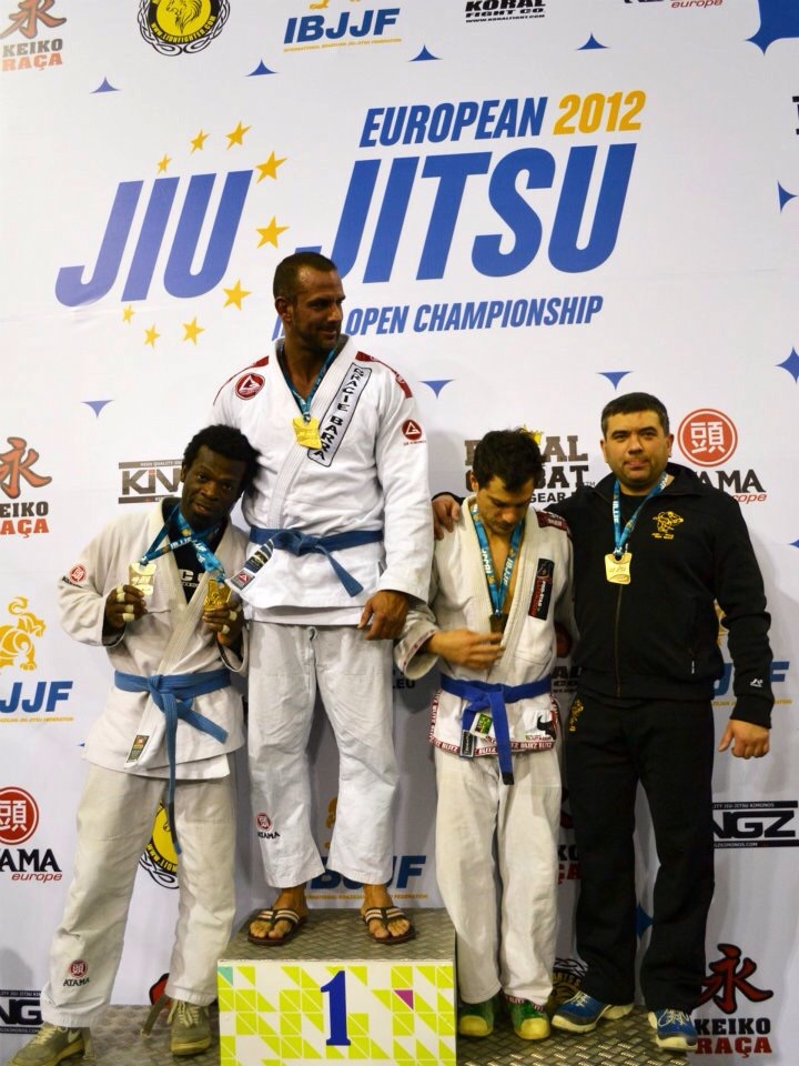After winning Gold in my bracket and Silver a Blue a Belt Absolute in BJJ EURO 2012