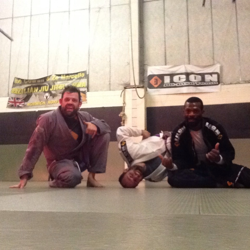 """""""Big"""" Russell and Simon. Massive thanks to the boys who came especially to spar with me as preparation for the competition. I am so grateful."""