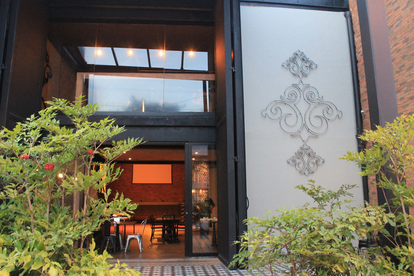 varanda coberta Studio190 espaço ao livre evento descolado vila nova conceicao