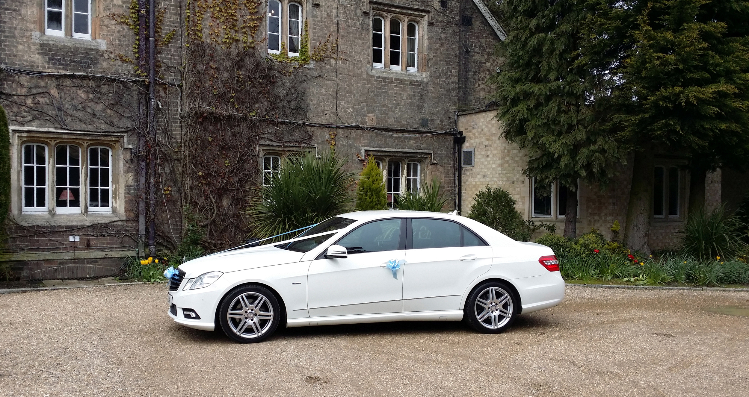 Groom's car at the Parsonage Hotel in York, North Yorkshire