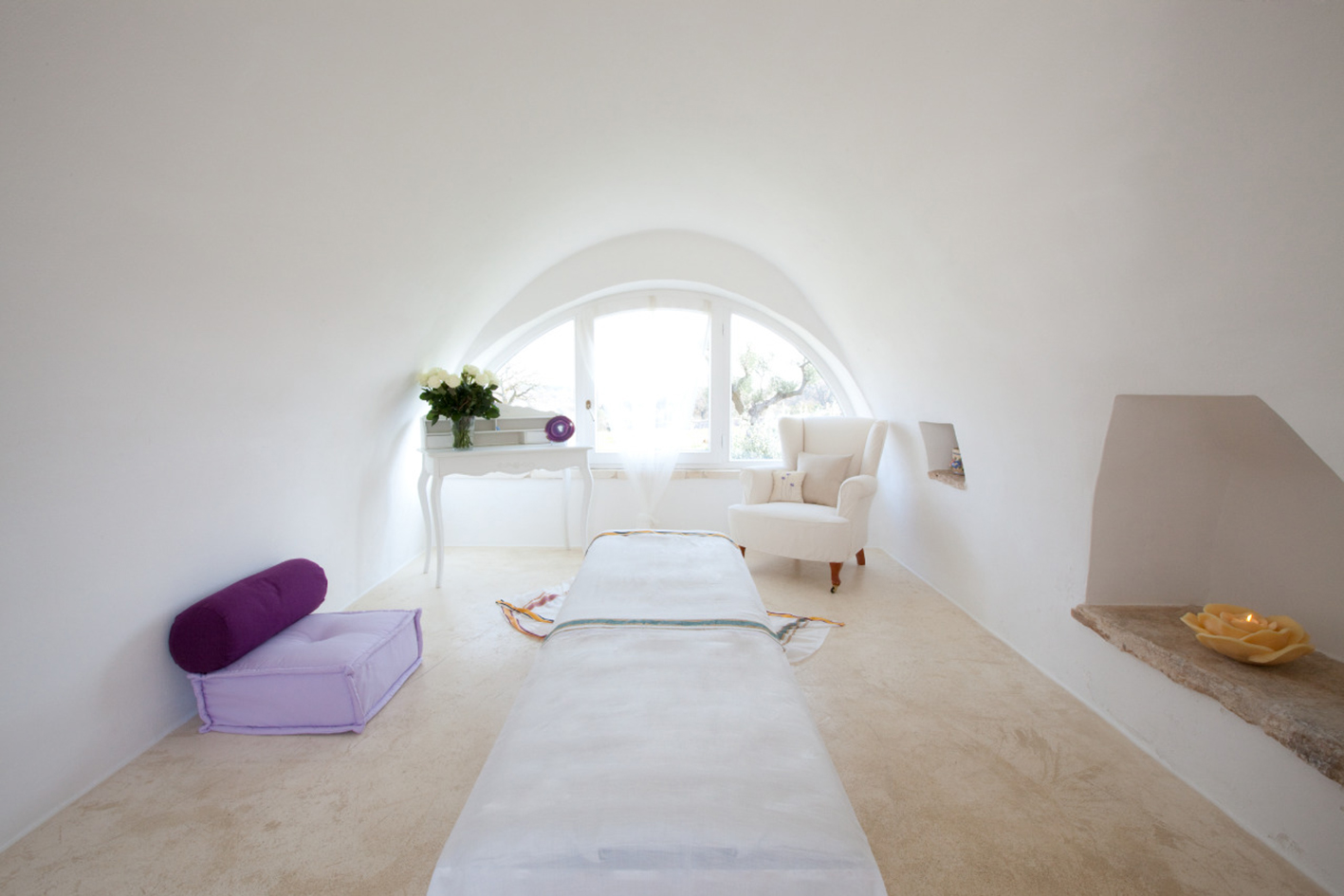 Bodywork and massage room from June 2018, Puglia