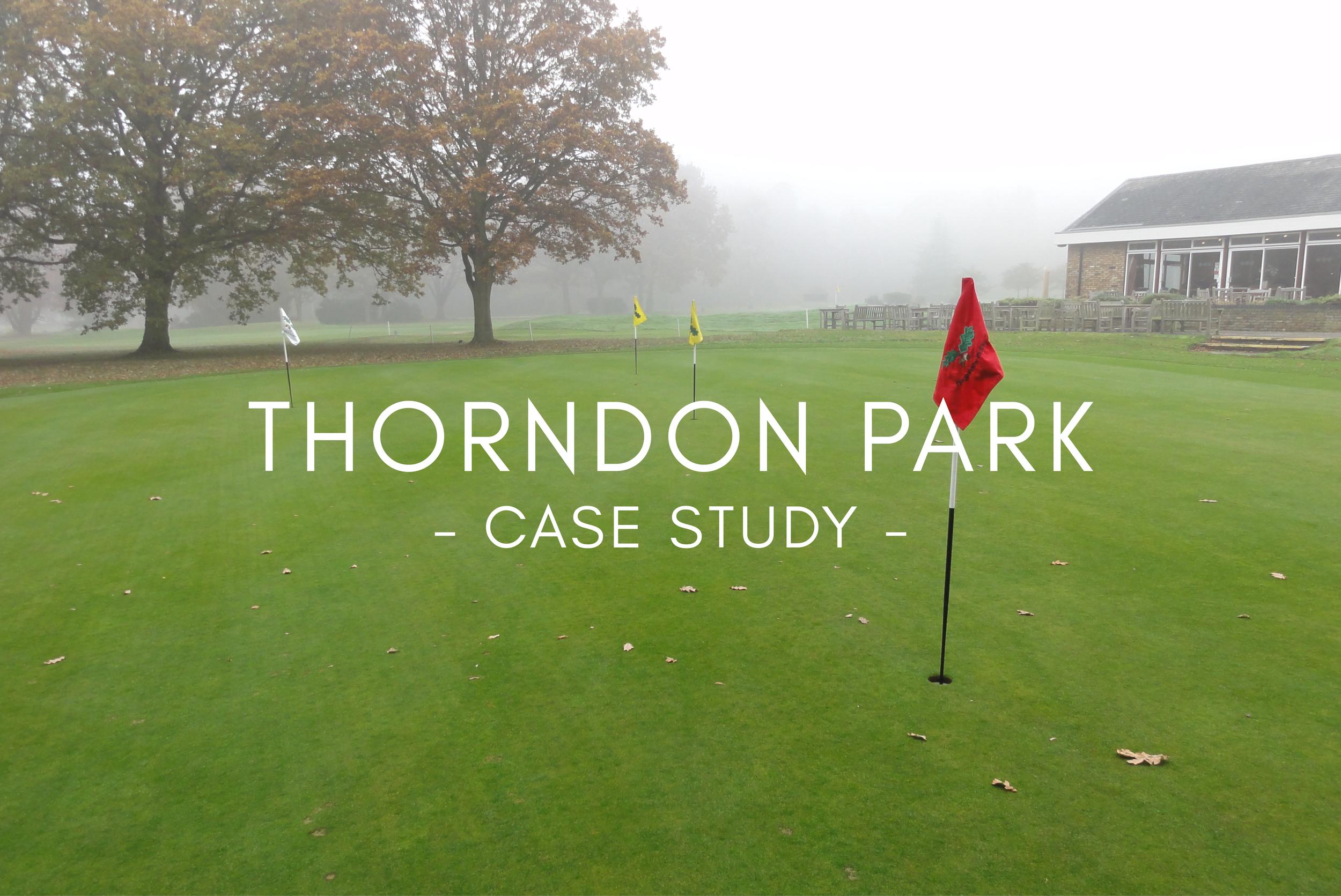 Thorndon Park - Case Study