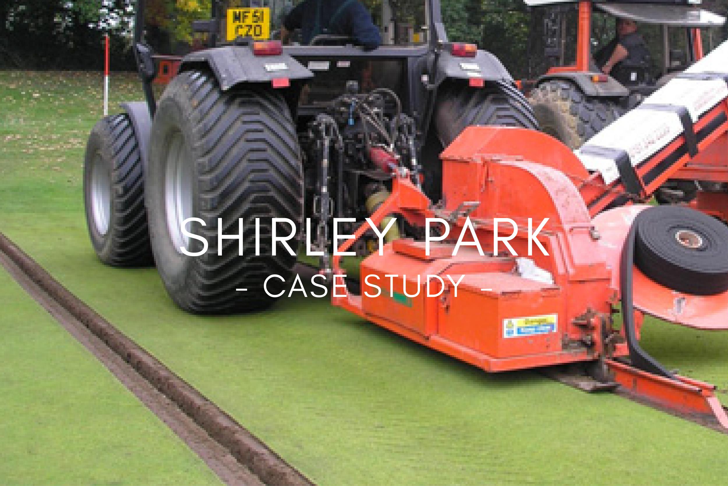 Shirley Park - Case Study