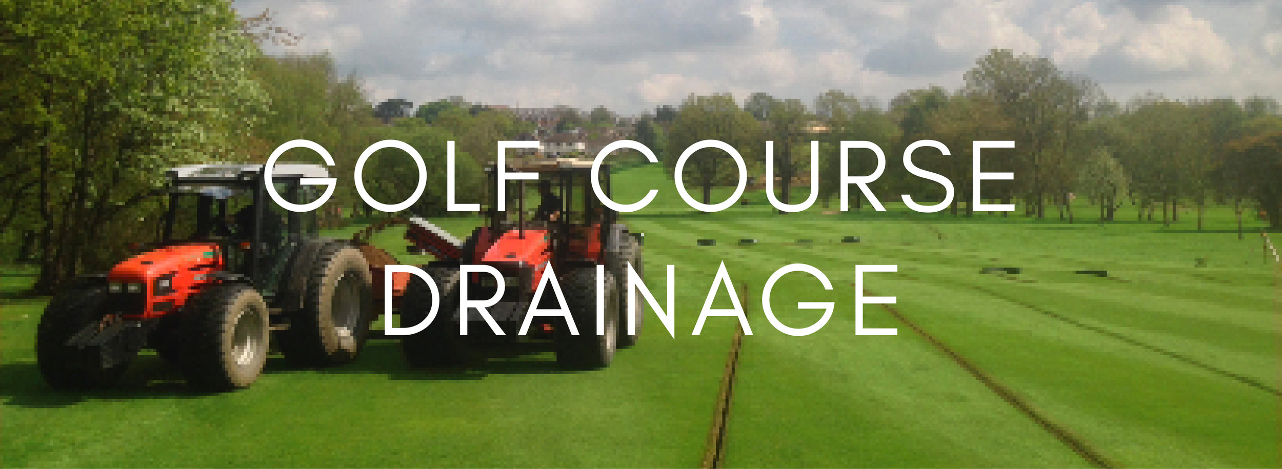 Golf Course Drainage