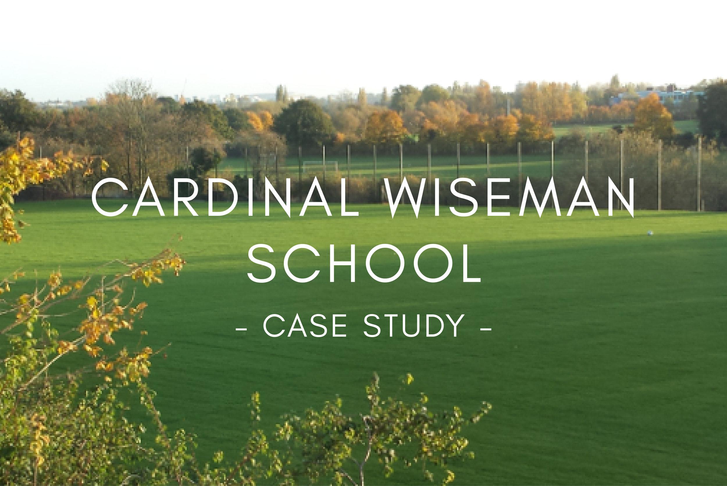 Portfolio - Cardinal Wiseman School Pitch Design & Construction