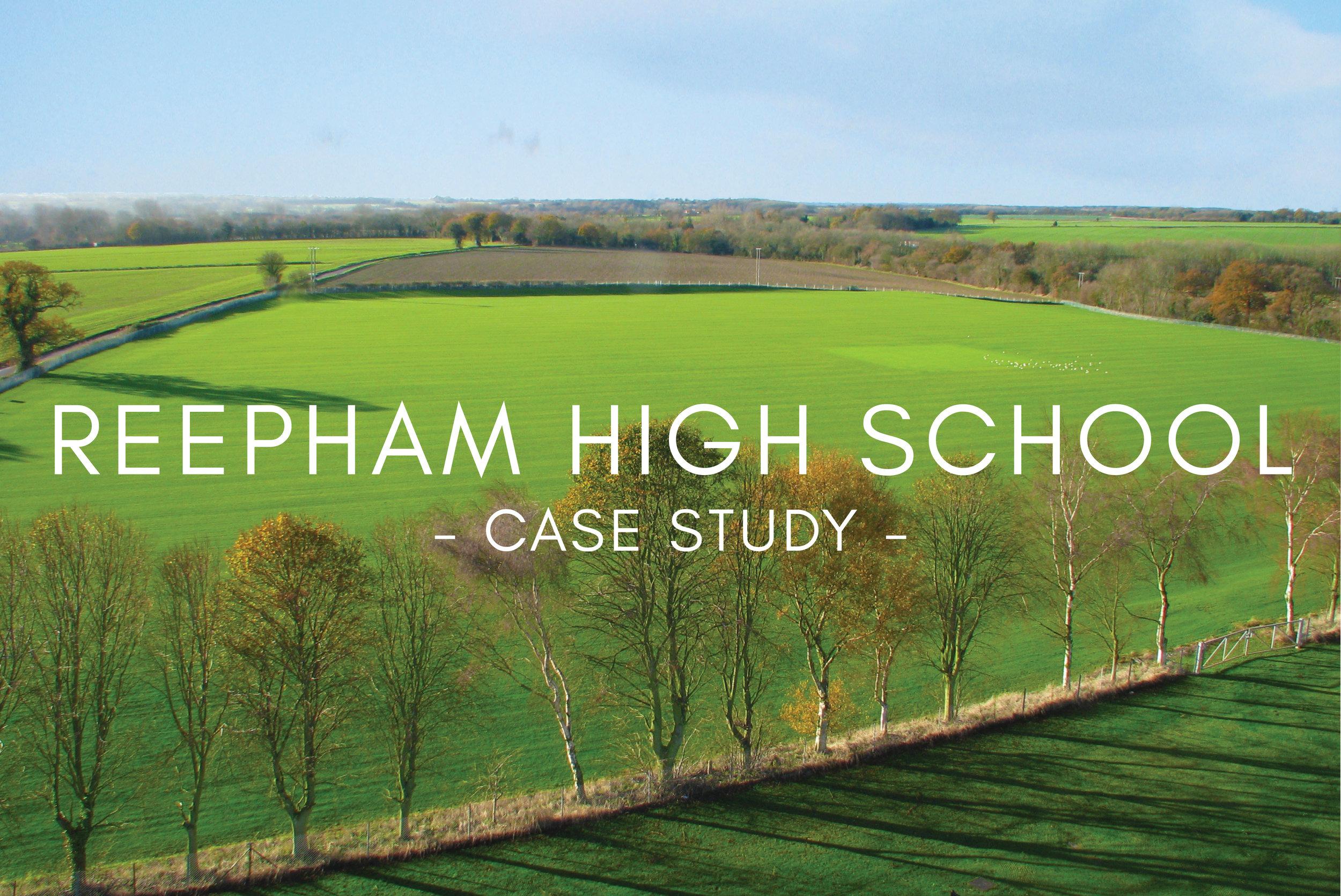 Portfolio - Reepham High School Pitch Design & Construction
