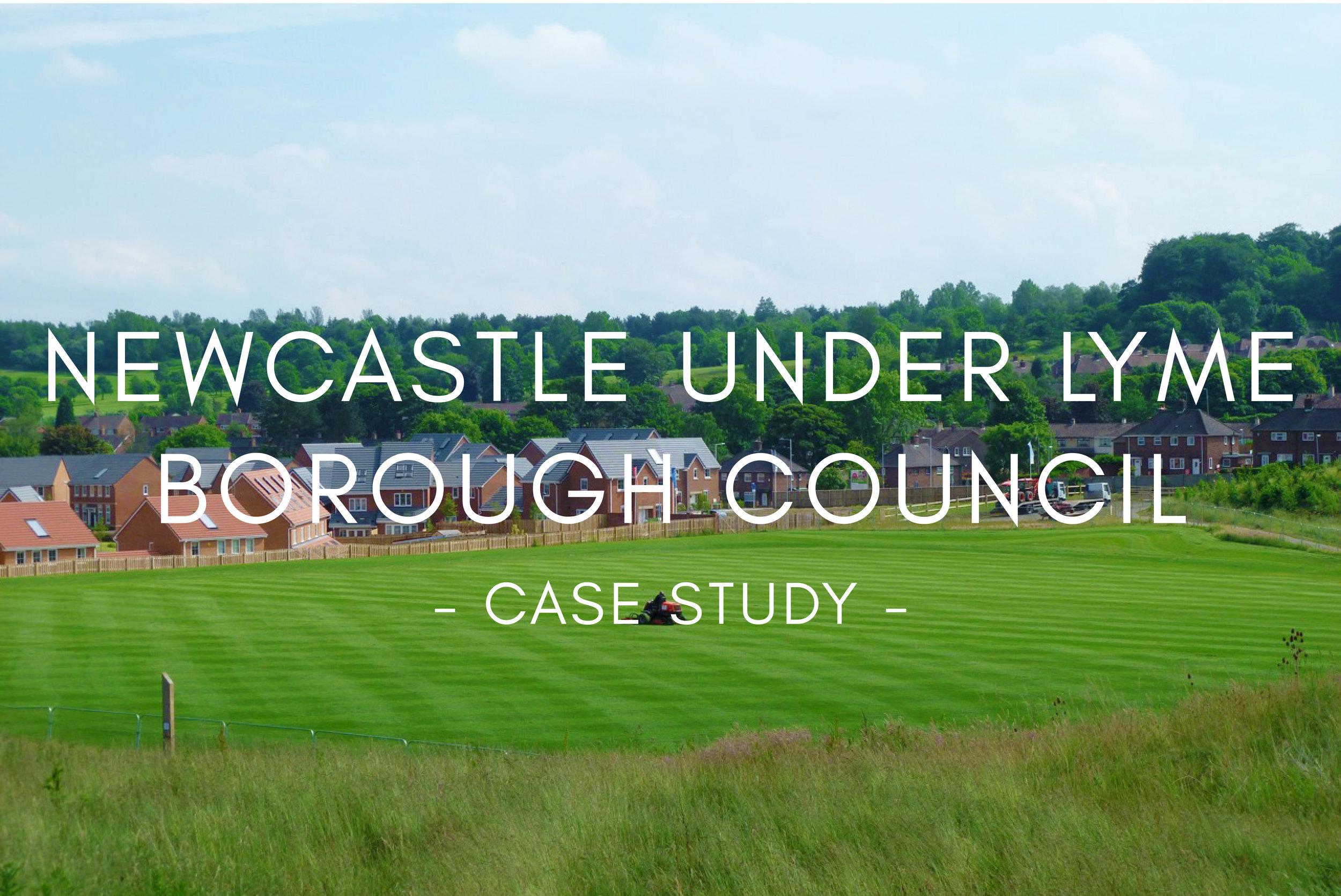 Portfolio - Newcastle Under Lyme Borough Council Sports Pitch Design & Construction