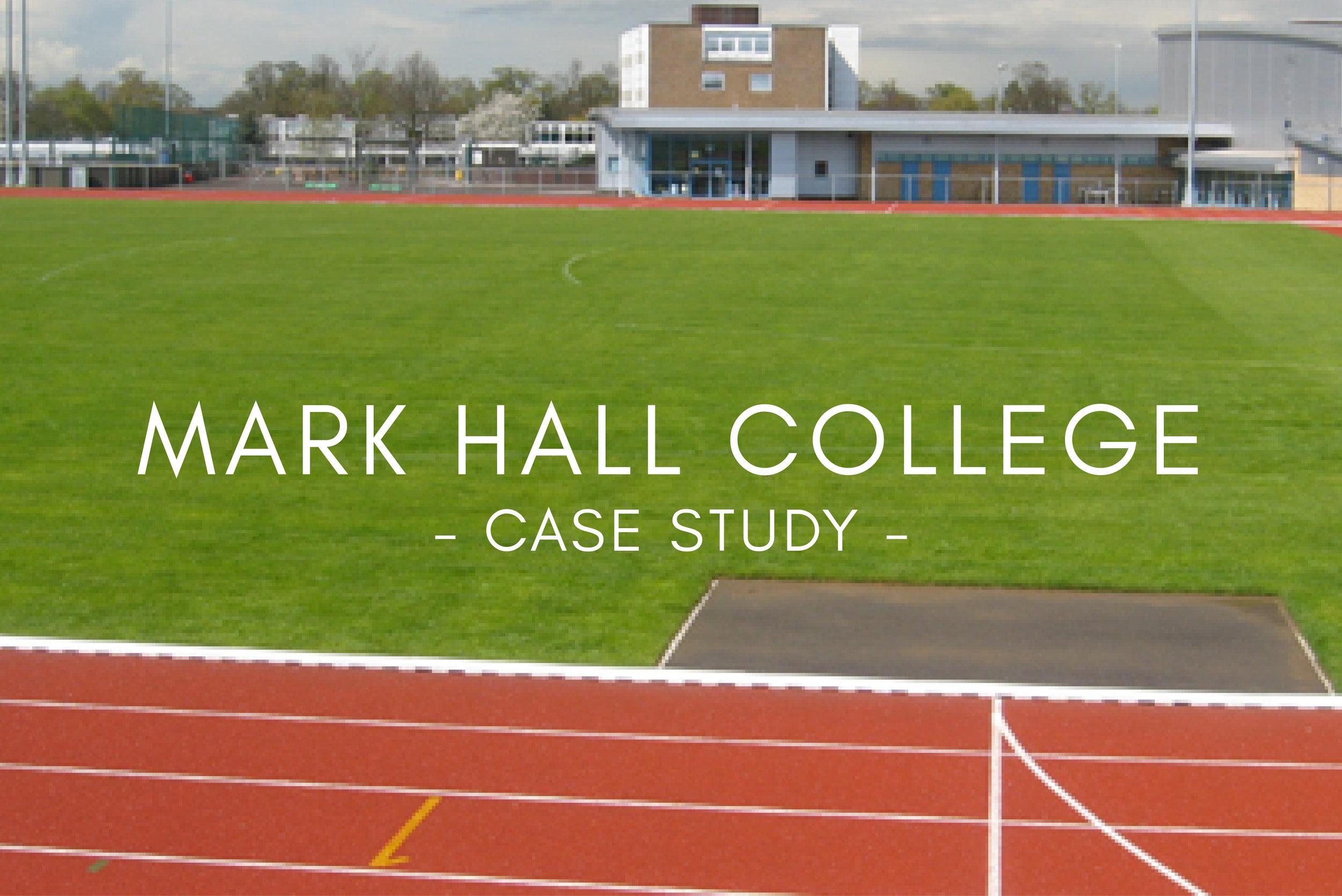 Portfolio - Mark Hall College Stadium Design & Construction