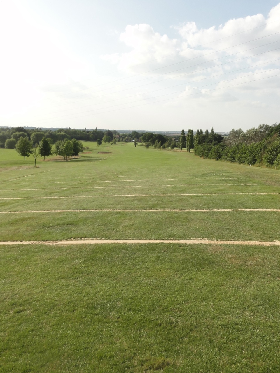 Completed fairway