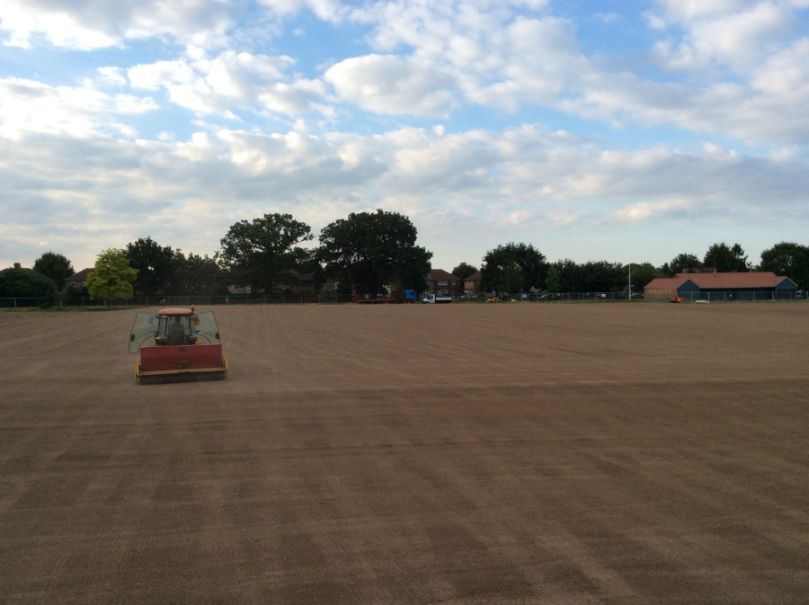 Cultivation & seeding works