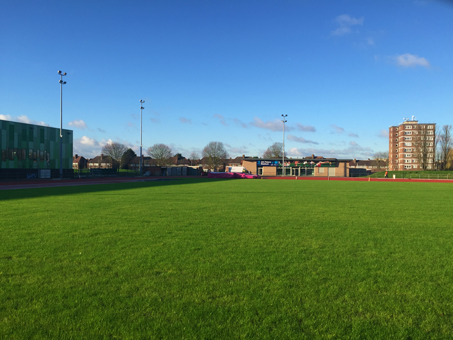 Turfdry continue to monitor the pitch's progress, and will oversee initial maintenance until handover to the Council.