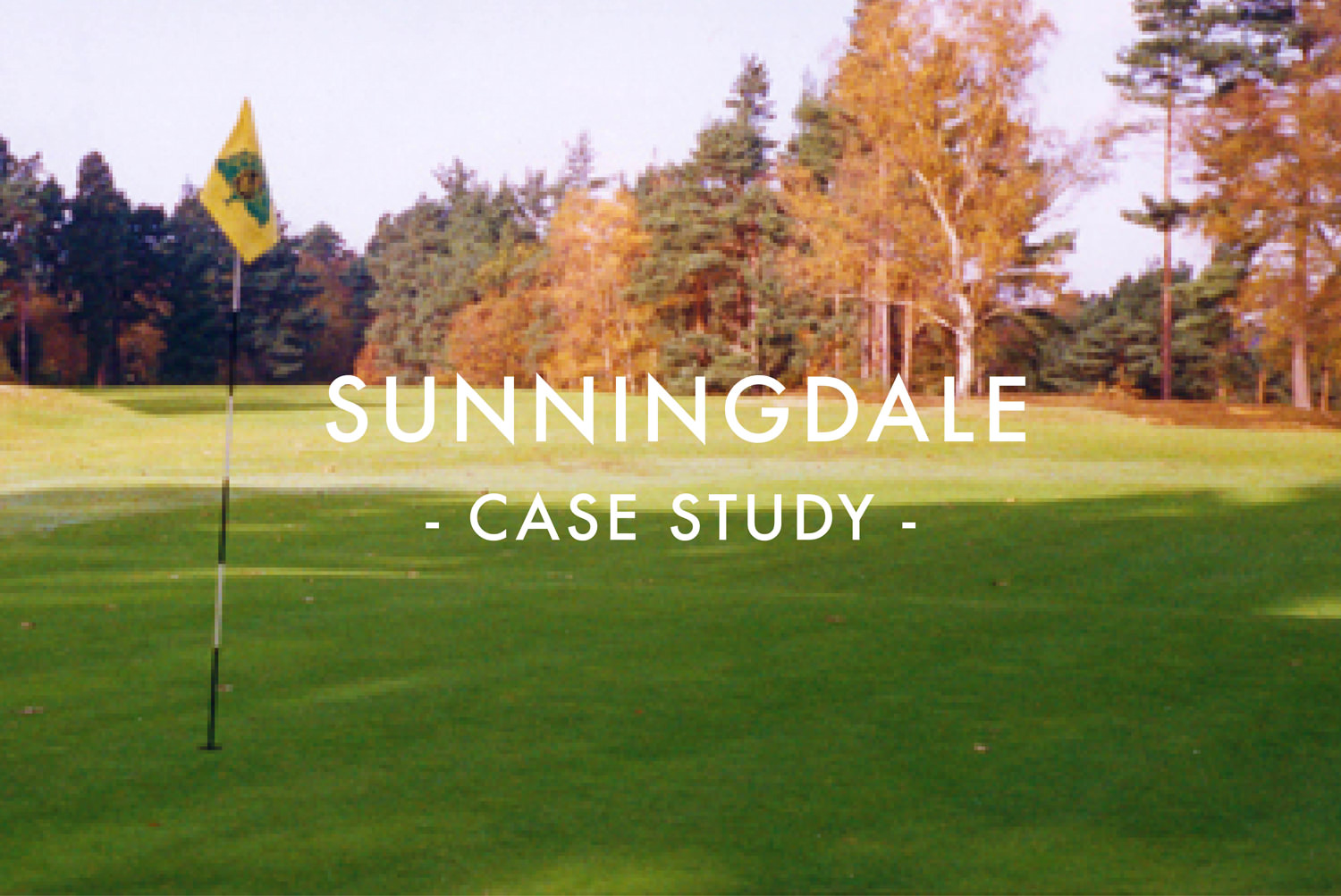 Sunningdale Golf Club - Greens Drainage Installation Case Study